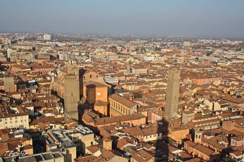 Vistas desde la Torre Asinelli