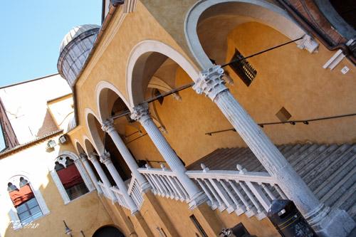 Escalinata de Honor en Palazzo Municipale