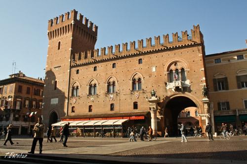 Palazzo Municipale en Ferrara