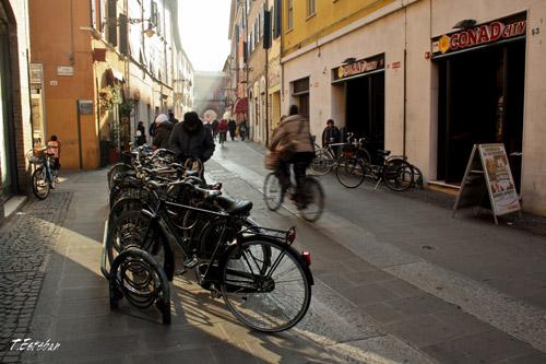 Bicicletas en Ferrara