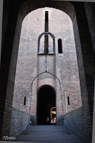 Puente levadizo del Castillo Estense