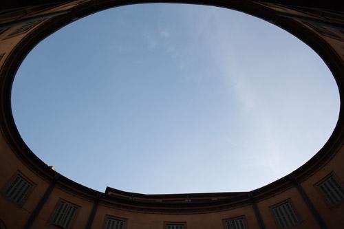 Ensanche elíptico en Teatro Comunale. Ferrara