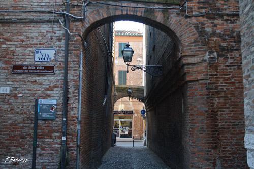 Via Volte en Ferrara