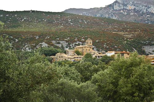 Vista del pueblo Rodellar