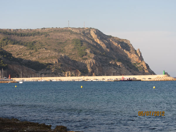 Cabo de San Antonio en Xavea