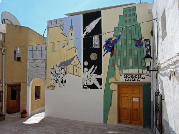 Museo del Cómic en Calpe