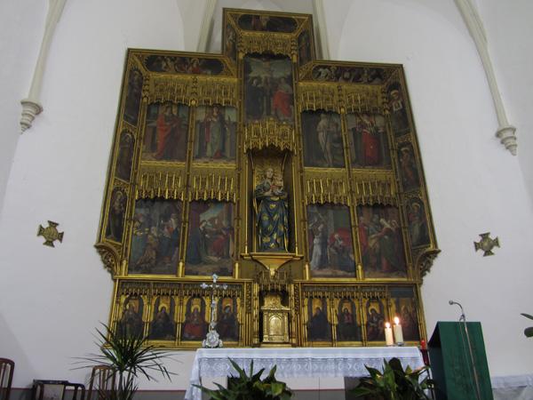 Retablo de la iglesia de Castejón de Valdejasa