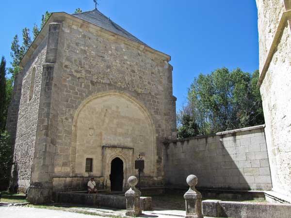 Rascafría. Capilla dedicada a la virgen de Montserrat