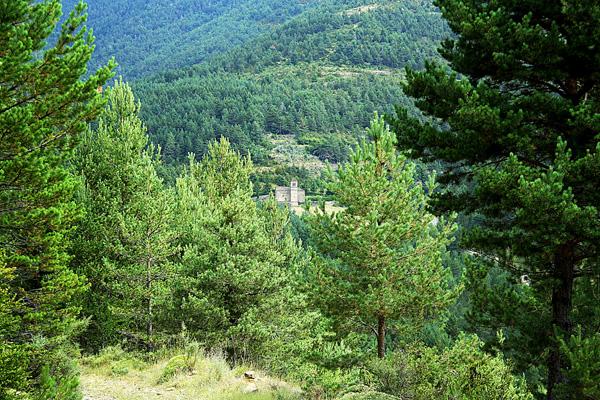 Iglesia de San Bartolomé vista desde lejos