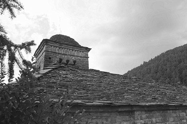 Tejado de la iglesia San Bartolome