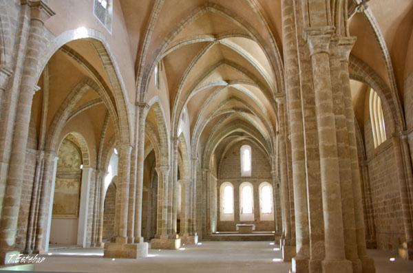 Cabecero de la iglesia del Monasterio de Rueda