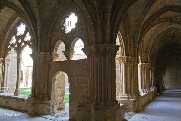 Claustro del Monasterio de Rueda. esquina