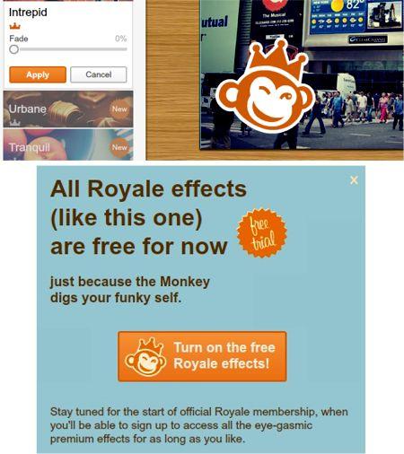 Utilizar características premium Royale