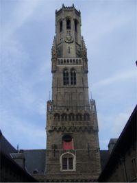 Brujas. Torre Campanario