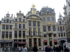 Edificios de la Grand Place de Bruselas