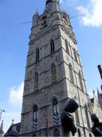 Gante. Torre