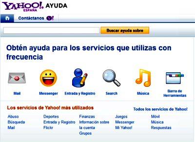 Servicio de Ayuda de Yahoo
