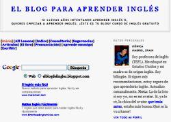 el blog del inglés
