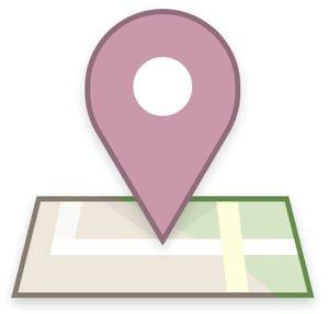 icono de Facebook Places