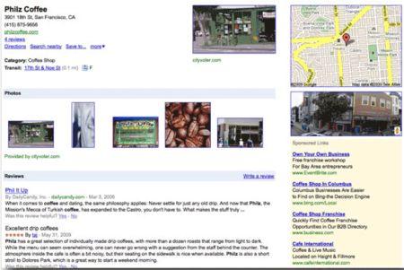 Ficha de empresa en Google Places