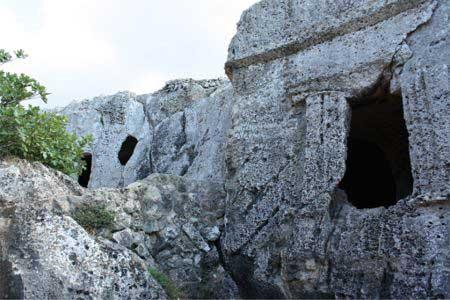 Necropolis de Cala Morell. Menorca