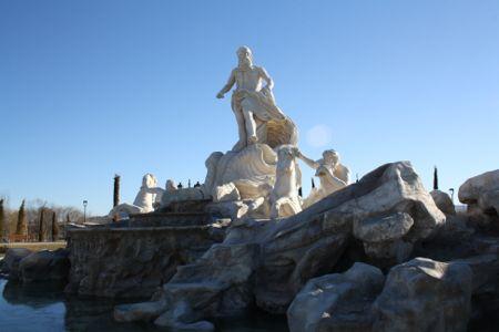 Fontana di Trevi en Parque Europa