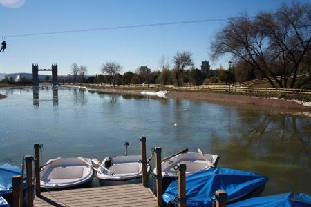 Lago del Parque Europa