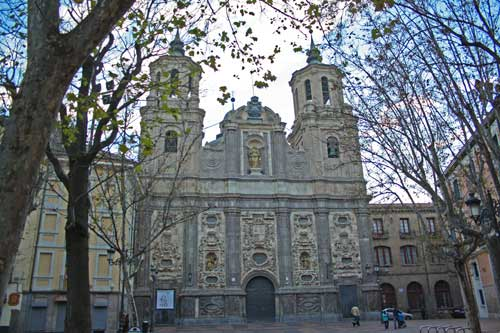Plaza del Justicia. Iglesia de San Cayetano o de Santa Isabel de Portugal