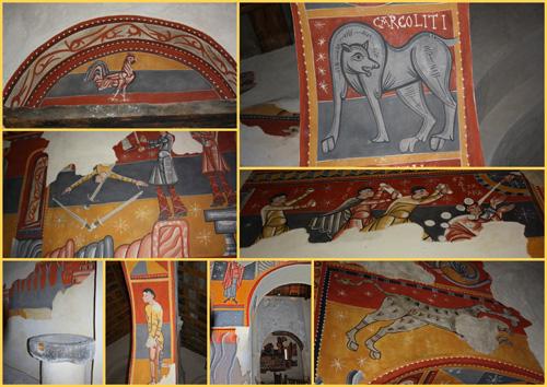 pinturas de la iglesia Sant Joan en Boi