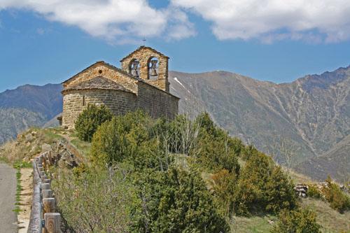 ermita de San Quirc en Durro