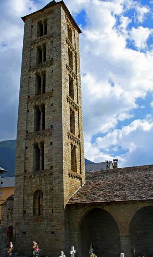 Iglesia Santa Eulalia en Erill la Vall