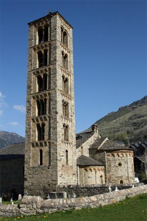iglesia de Sant Climent en Taull