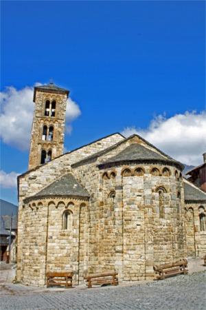 iglesia de Santa María en Taull