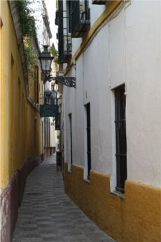 Calle del barrio Sta Cruz