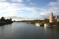 Guadalquivir y la Torre del Oro