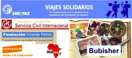 Distintos proyectos de turismo solidario