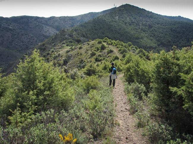 Tobed. Cresteando hacia el Pico Valdemadera. Hacia la nueva normalidad