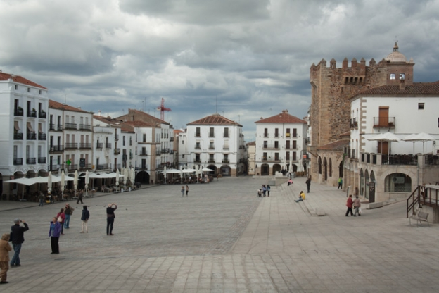 Cáceres. Plaza Mayor
