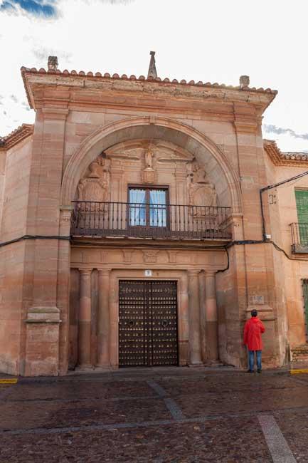 Casa del Arco. Villanueva de los Infantes