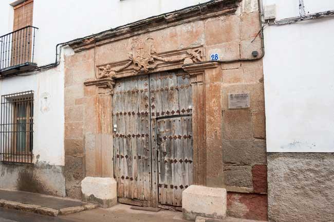 Casa de la Inquisición en Villanueva de los Infantes