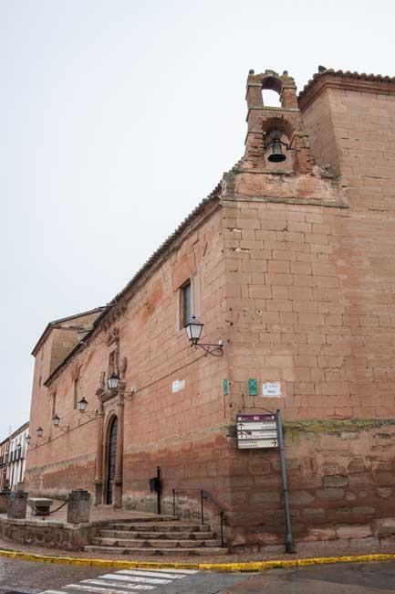 Fachada del Convento de Santo Domingo. Villanueva de los infantes