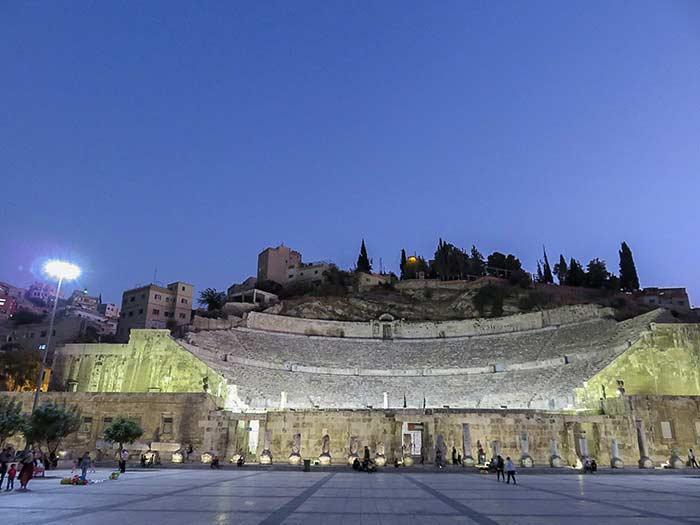 Aman teatro romano