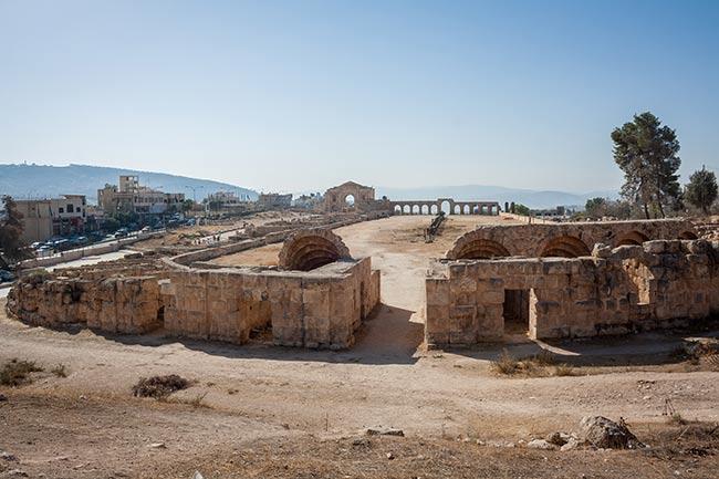 Hipódromo de Jerash. Jordania