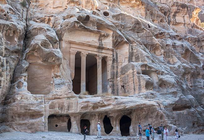 Pequeña Petra. Templo de Dushara