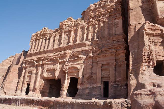 Petra. Tumba del Palacio