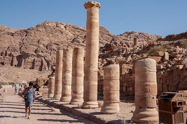 Petra. Vía Columnata