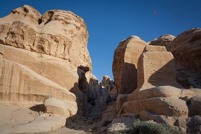 Petra. Bloques de Djinn