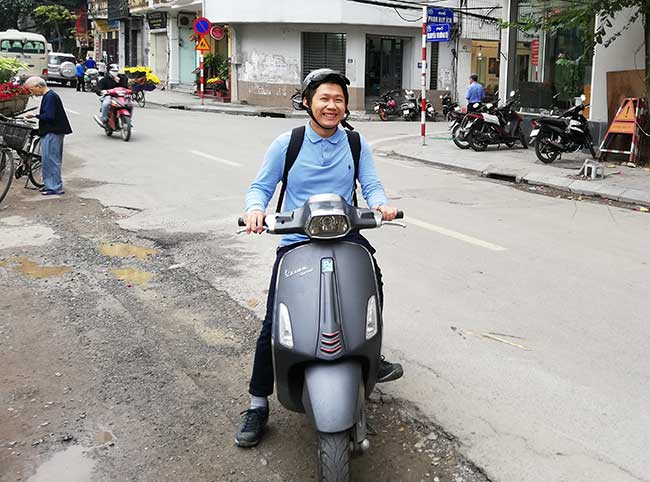 Kung Fu, nuestro guía en este circuito por el norte de Vietnam