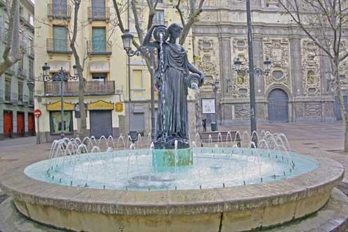 Zaragoza. Plaza