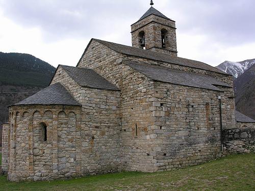 Iglesia románica de Boi